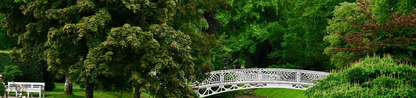Brücke im Kurpark von Baden-Baden